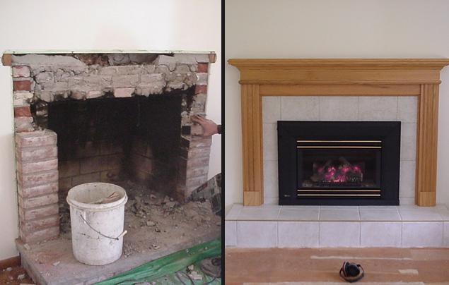 Fireplace Refurbishing